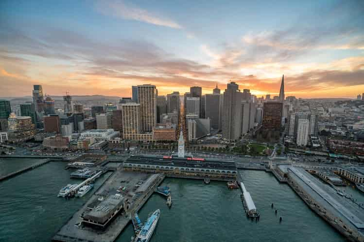 Famous cities in California